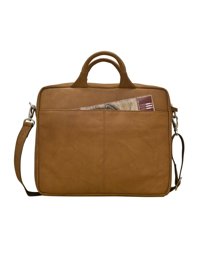 "6116 LESLIE 13"" LAPTOP OFFICE BAG"