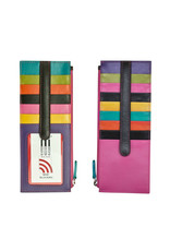 7800 RFID CARD HOLDER WITH ZIP POCKET