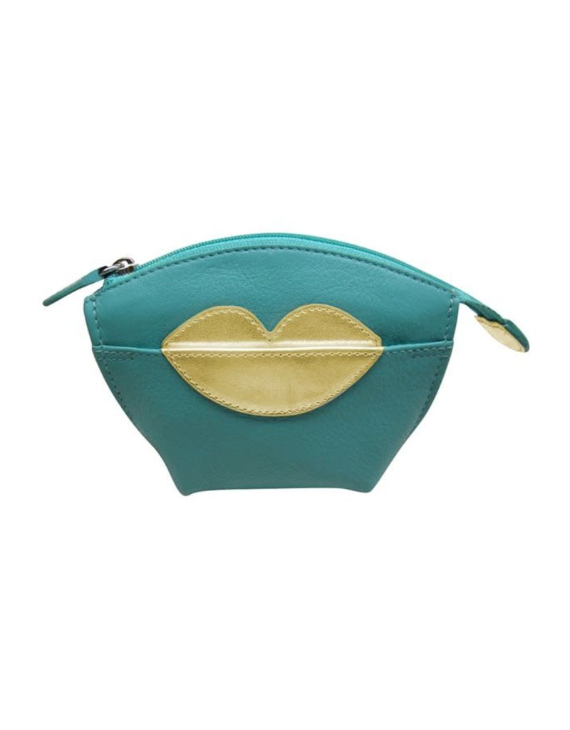 6412 COIN PURSE WITH HOT LIPS