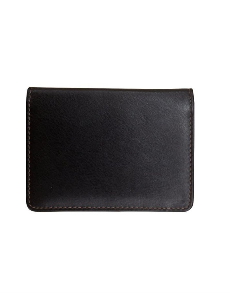 7415 BUS CARD HOLDER WITH ID WINDOW MEN'S WALLET