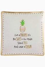NATURAL LIFE GLST057 SQ PINEAPPLE LIFE