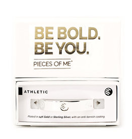 PIECES OF ME WSCFS-AT ATHLETIC CUFF BRACELET- SILVER
