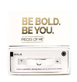 PIECES OF ME WSCFS-BD BOLD CUFF BRACELET- SILVER