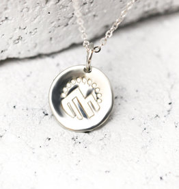PIECES OF ME WSNS-AD ADVENTUROUS NECKLACE- SILVER