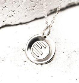 PIECES OF ME WSNS-AT ATHLETIC NECKLACE- SILVER