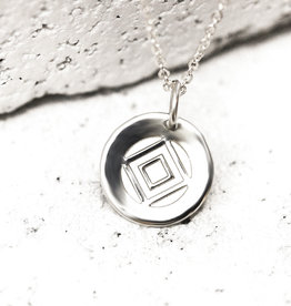 PIECES OF ME WSNS-DT DETERMINED NECKLACE- SILVER