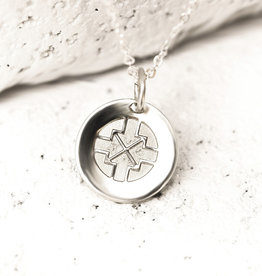 PIECES OF ME WSNS-DN DRIVEN NECKLACE- SILVER