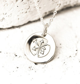 PIECES OF ME WSNS-HW HARD-WORKING NECKLACE- SILVER