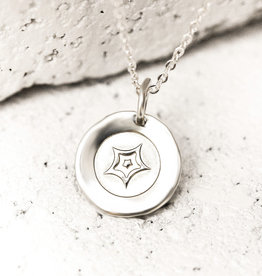 PIECES OF ME WSNS-PS PASSIONATE NECKLACE- SILVER