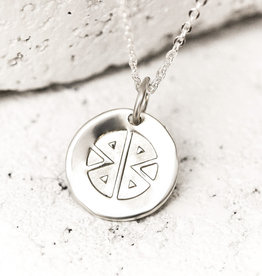 PIECES OF ME WSNS-ST STRONG NECKLACE- SILVER