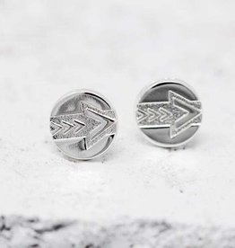PIECES OF ME WSERS-LD LEADER EARRINGS-SILVER