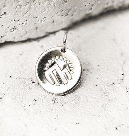 PIECES OF ME WSNCS-AD ADVENTUROUS NECKLACE CHARM- SILVER