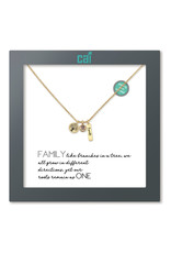 31870 GOLD FAMILY AS YOU WISH NECKLACE