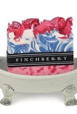 FINCH BERRY IRON BATHTUB SOAP DISH