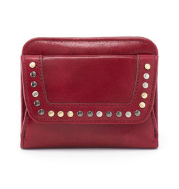 HOBO VI-32340 Pep Leather Studded Bifold Wallet