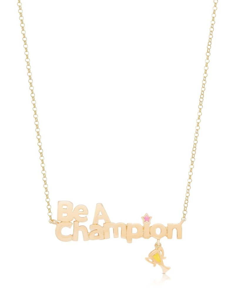 """451N """"BE A CHAMPION"""" NECKLACE"""