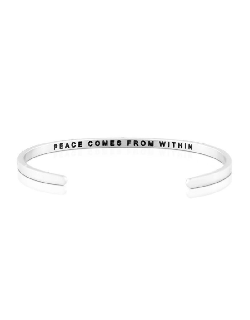 MANTRABAND PEACE COMES FROM WITHIN