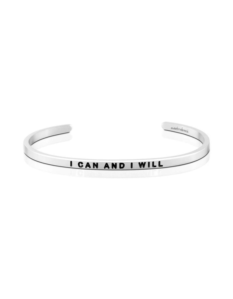 MANTRABAND I CAN AND I WILL
