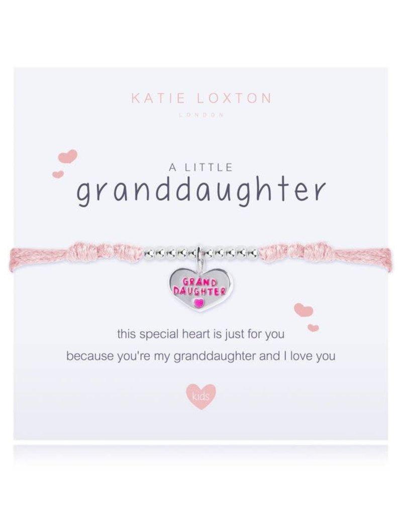 KATIE LOXTON KLJC439 a little GRANDDAUGHTER - pink - bracelet