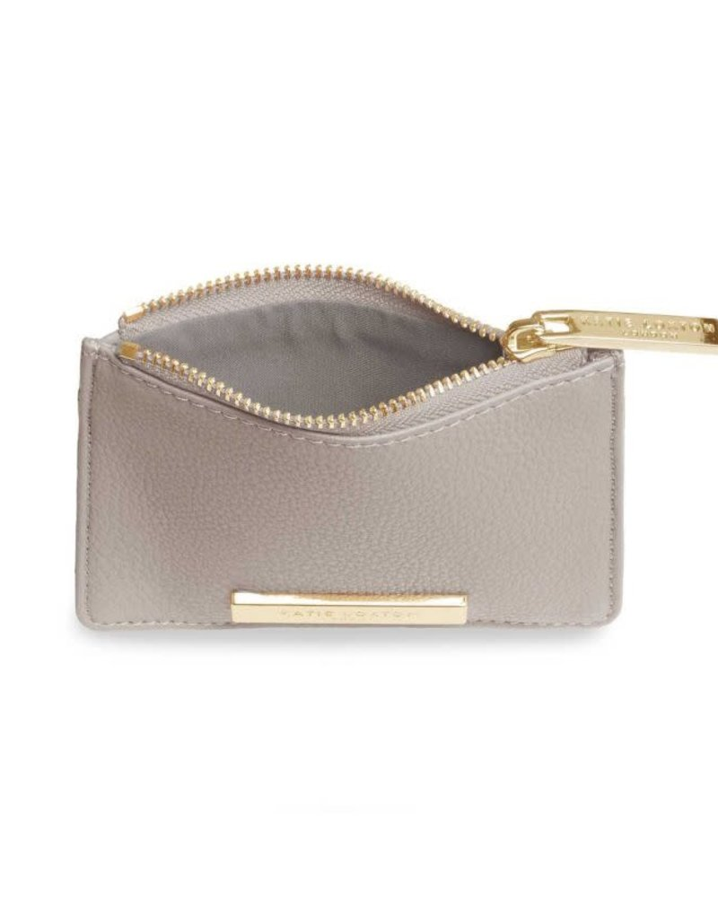 KATIE LOXTON KLB647 ALISE CARD HOLDER - STONE - 7.7X10.7X1.3CM