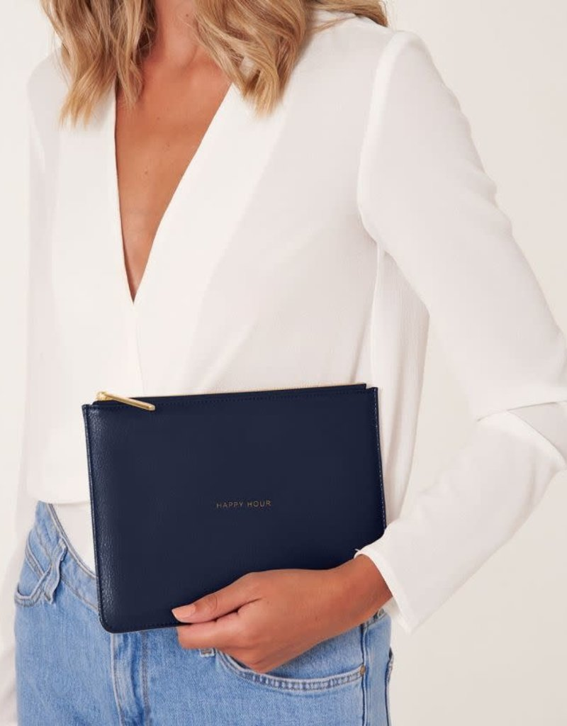 KATIE LOXTON KLB741 PERFECT POUCH | HAPPY HOUR | NAVY  | 16 X 24 CM