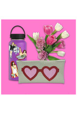 Heart Glasses Clutch