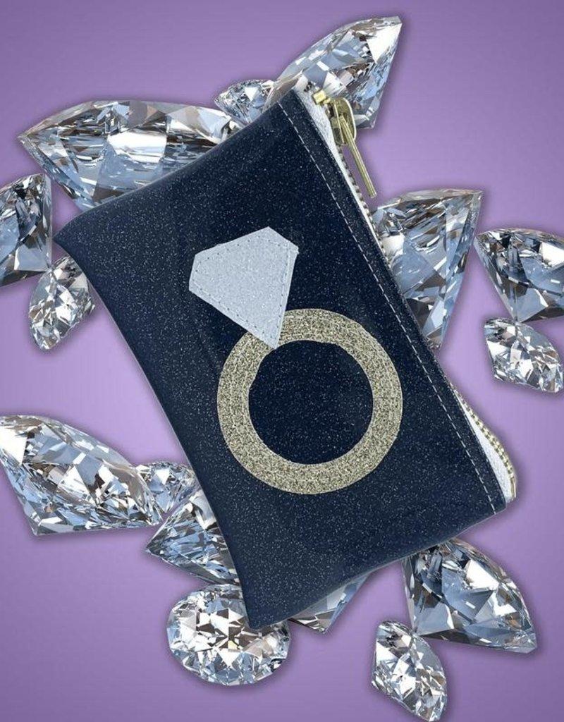 Diamond Ring Keychain Clutch!