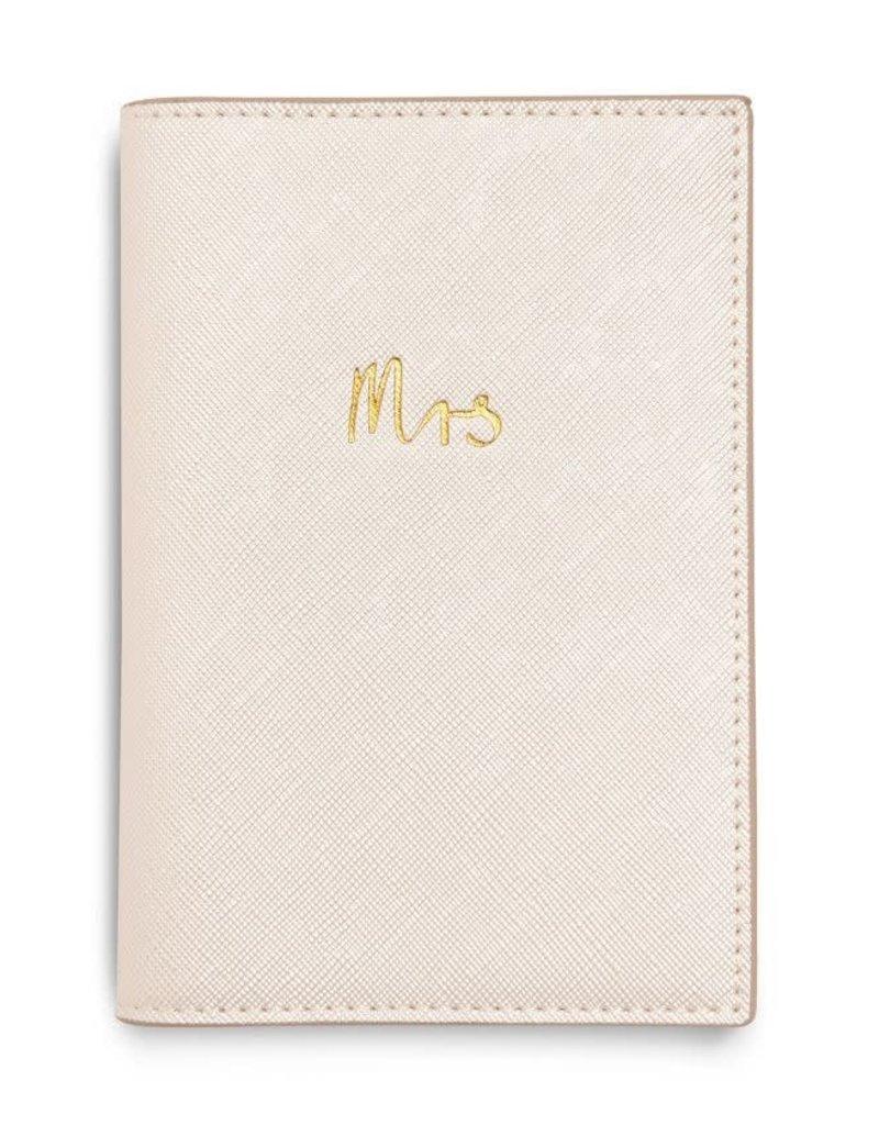 KATIE LOXTON KLB992 BRIDAL PASSPORT COVER GIFT SET | MR AND MRS | BOX 26.6X18CM