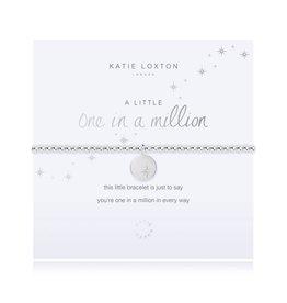 KATIE LOXTON *KLJ3208 A Little - One In A Million - Silver- 17.5cm stretch