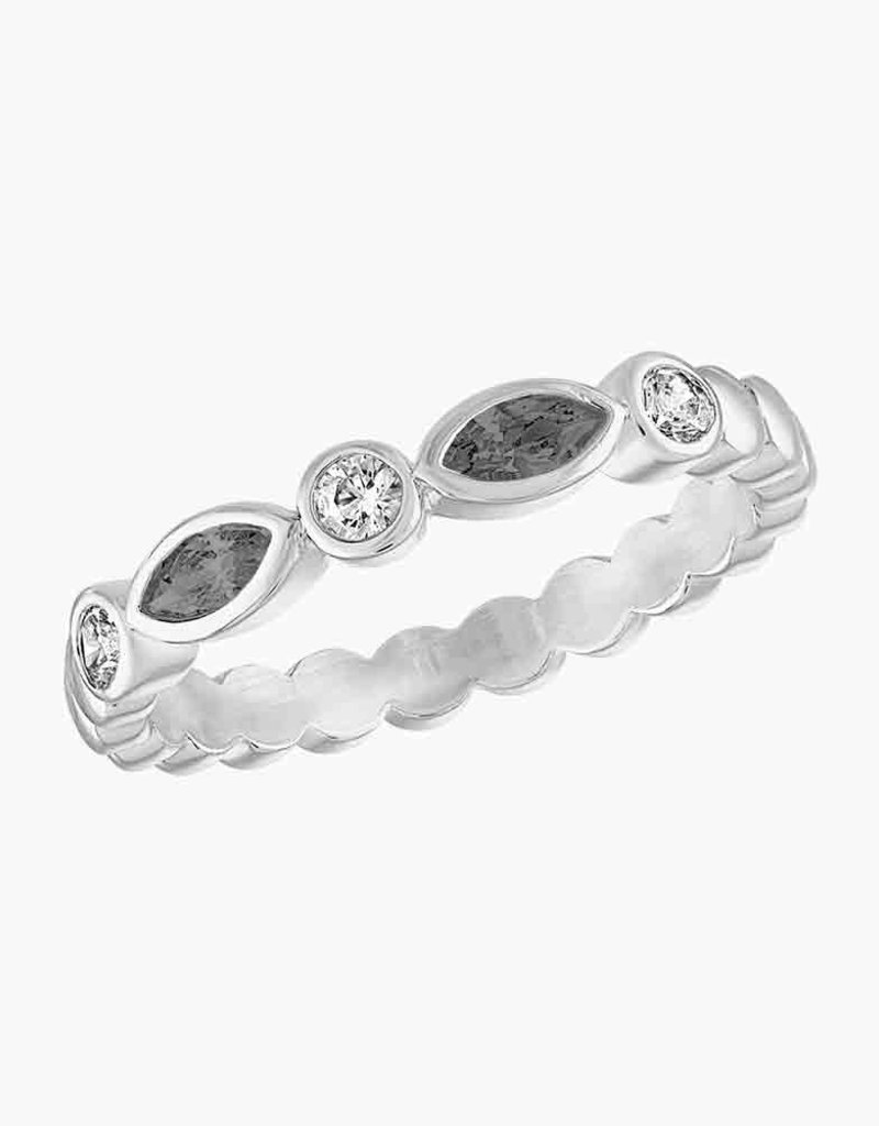 Black Diamond Endless Oval 2 Stack Ring