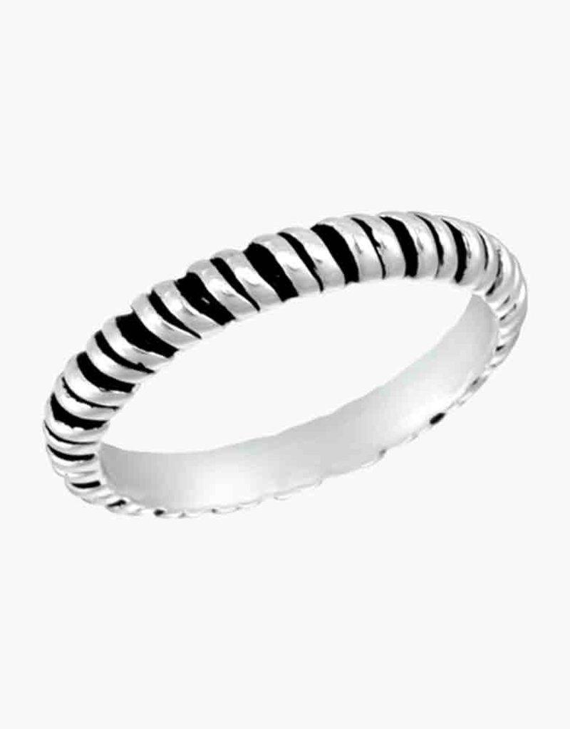 Lg. Twist Stack Ring