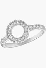 Circle CZ Stack Ring
