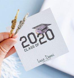 LUCA AND DANNI STC882S Graduation 2020 Bangle Bracelet_Silver Tone_Regular
