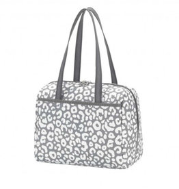 VIV&LOU SMOKEY LEOPARD LUNCH TOTE