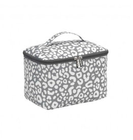 VIV&LOU SMOKEY LEOPARD COSMETIC BAG