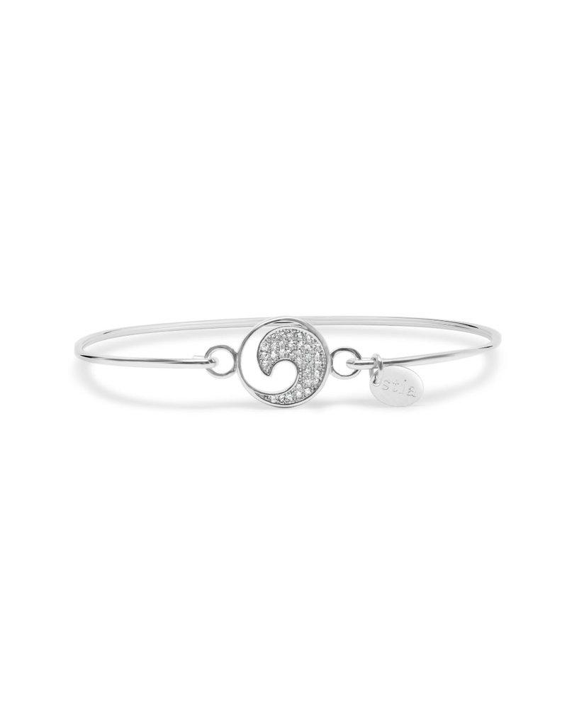 STIA Pavé Icon Bracelet Wave