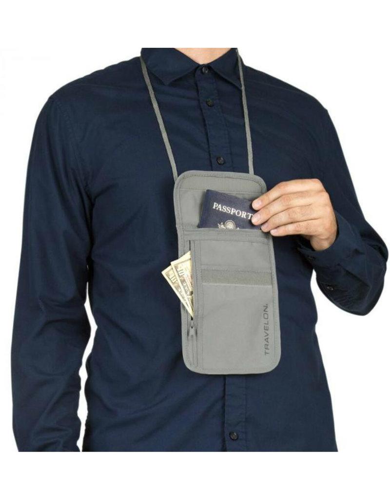 TRAVELON RFID Blocking Undergarment Neck Pouch