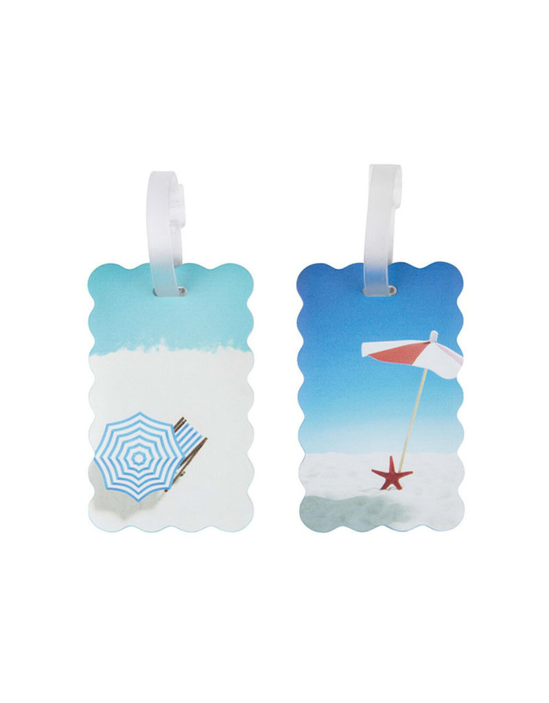 TRAVELON 13431 Set of 2 Luggage Tags - Beach