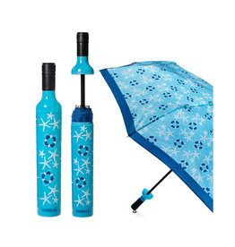 VINRELLA WINE BOTTLE UMBRELLA COASTAL DAYS