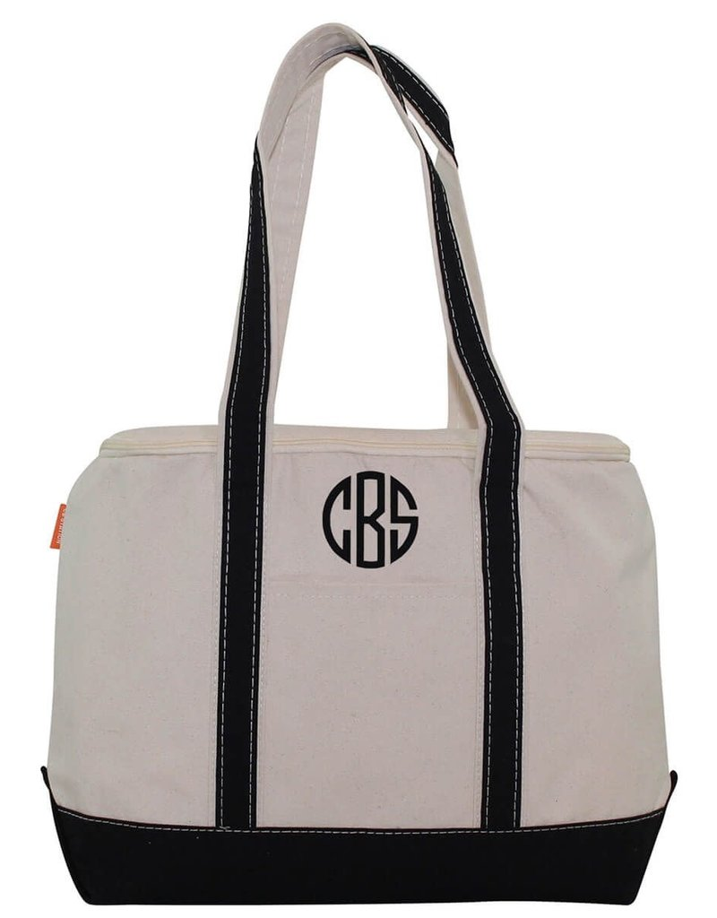 Monogrammed Large Lunch Tote Cooler