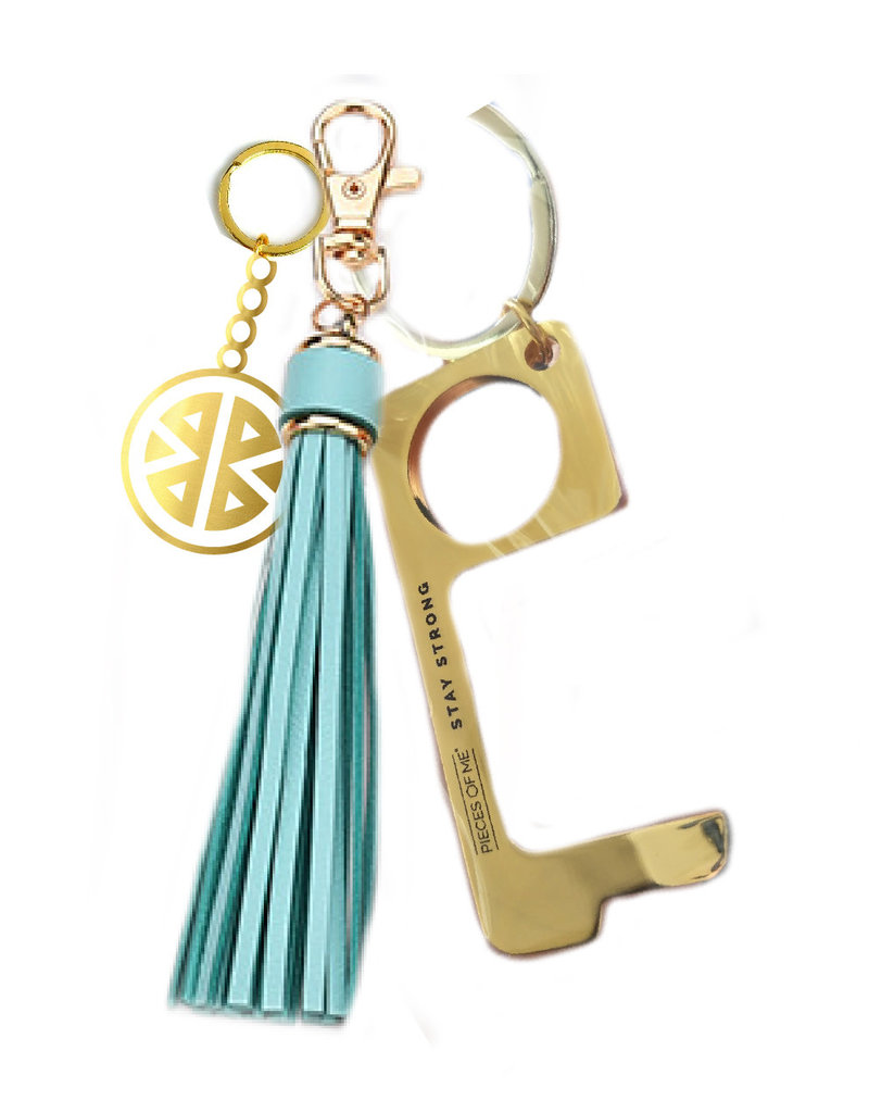 PIECES OF ME Don't Touch That Keychain Women's