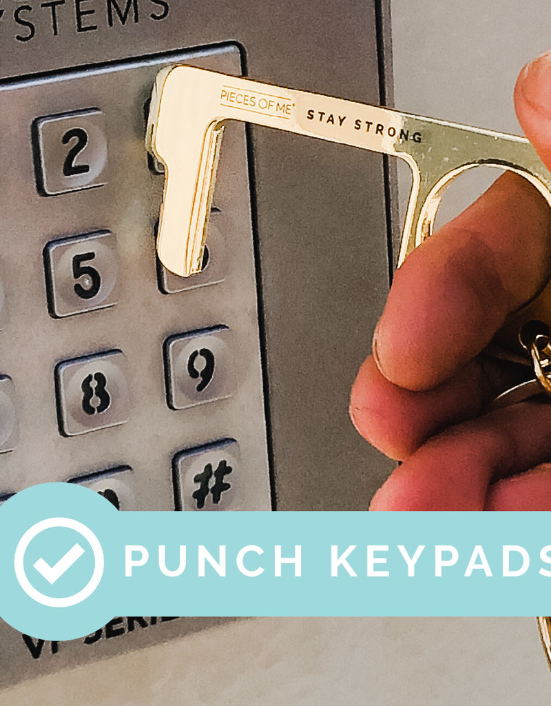 PIECES OF ME Don't Touch That Keychain MENS