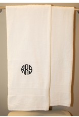 Monogrammed Luxury Cotton Bath Towel
