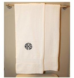 Monogrammed Luxury Cotton Bath Towel