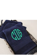 MONOGRAMMED FACE TOWEL