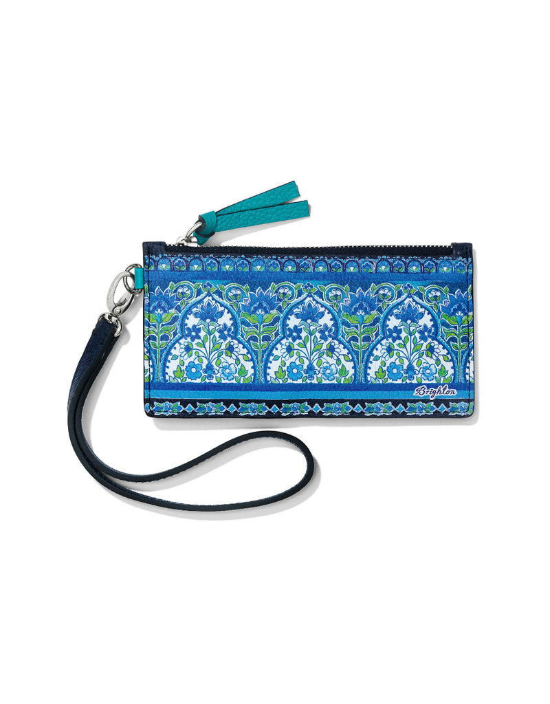BRIGHTON E53606 Journey To India Peacock Card Pouch