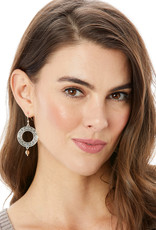 BRIGHTON JA6870 Interlok Weave French Wire Earrings