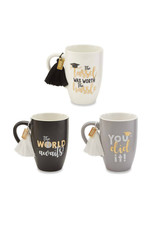 MUD PIE GRADUATION TASSEL MUG