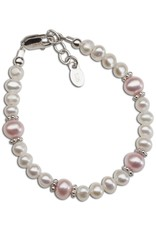 CHERISHED MOMENTS Addie - Sterling Silver Pearl Bracelet