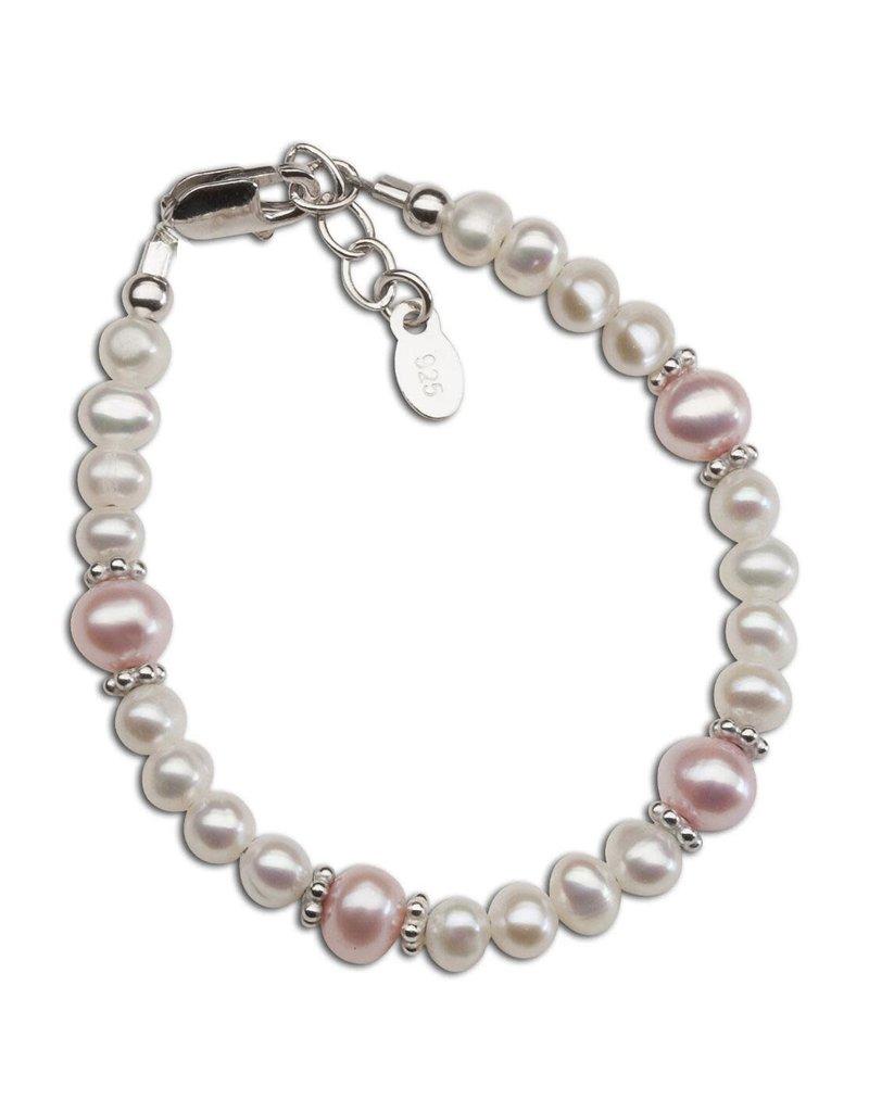 Addie - Sterling Silver Pearl Bracelet